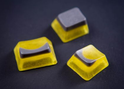 Alps SET - Silver Yellow